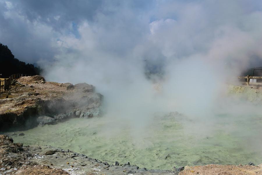 Dieng Plateau Crater