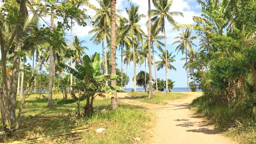 Einfahrt Lombok Strand Pantai Senggigi 3