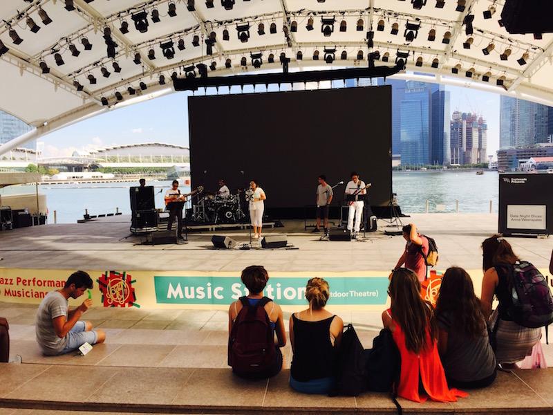 Esplanada Singapur Konzert