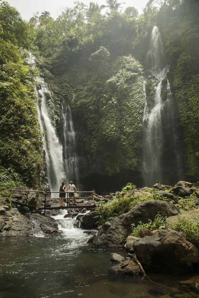 Fiji-Wasserfall-Bali