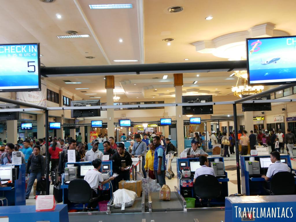 Flughafen Jayapura www.travelmaniacs.de