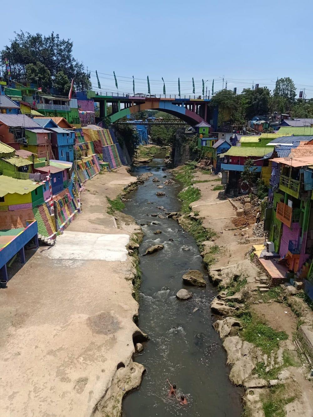Fluss-Malang-Java-Indonesien