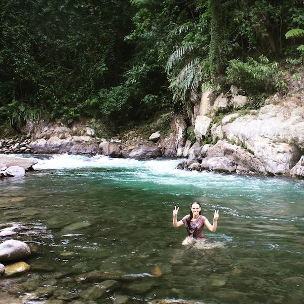 Fluss Sumatra