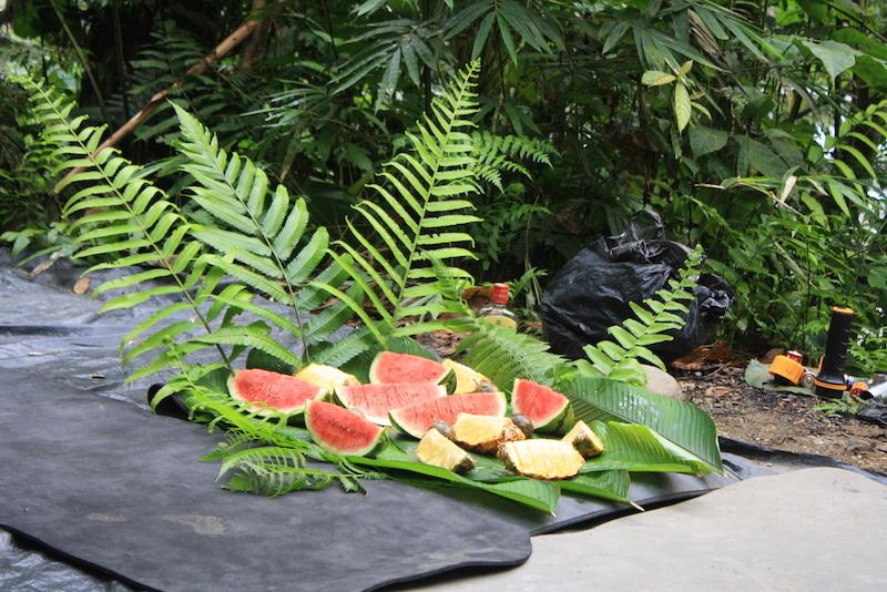 Frühstück Sumatra