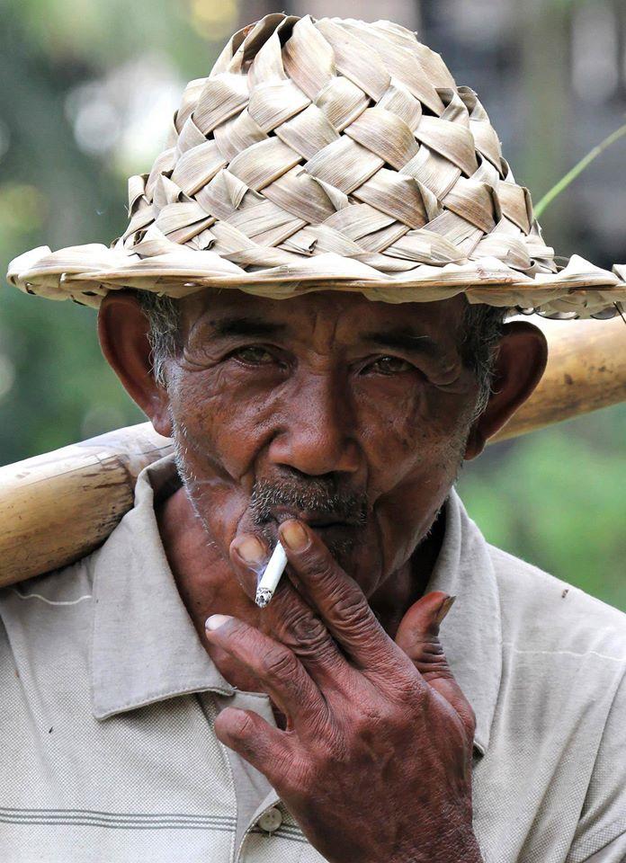 Frank Rotti Peter Bali tegalalang rice farmer