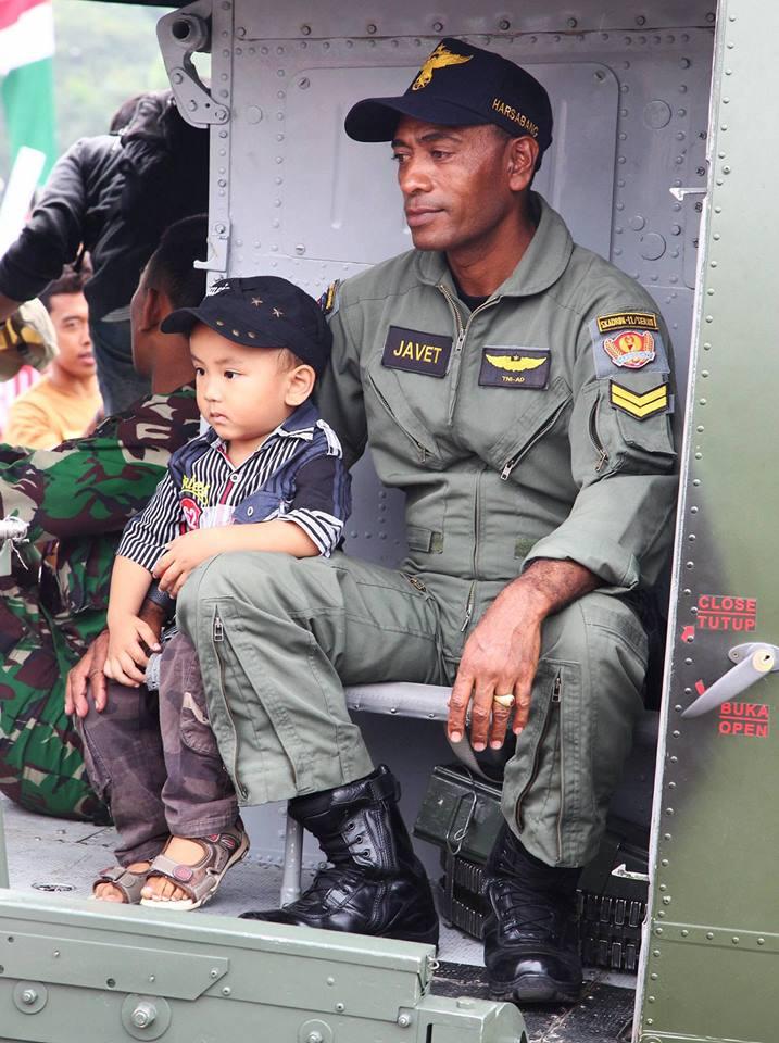 Frank Rotti Peter Java jakarta monas military exhibition