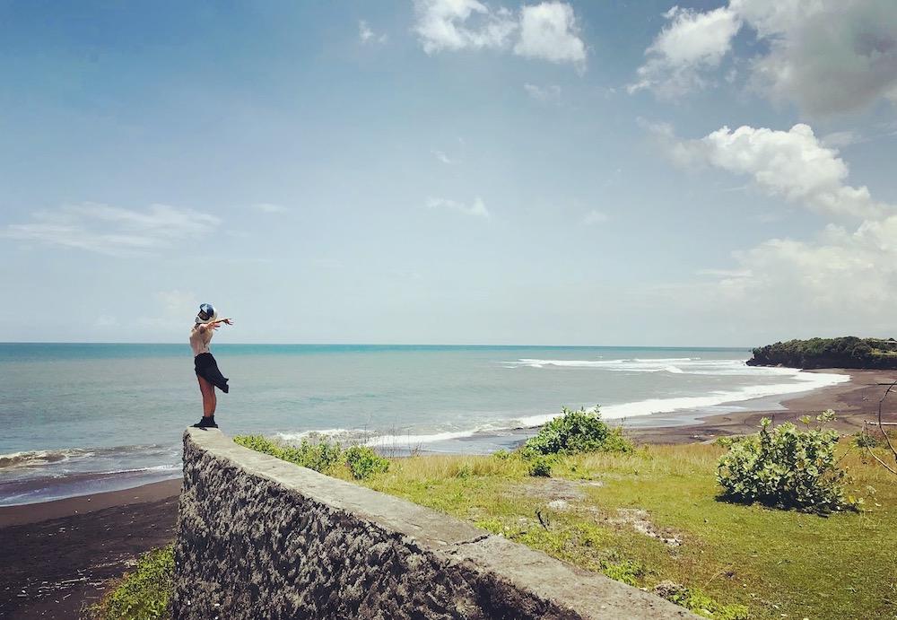 Freiheit am Nyanyi Beach