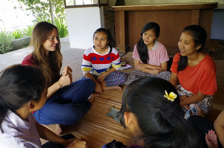 Freiwilligenarbeit Bali