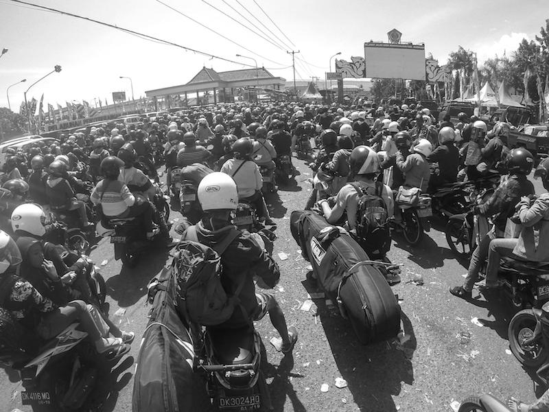 Indonesien Verkehr