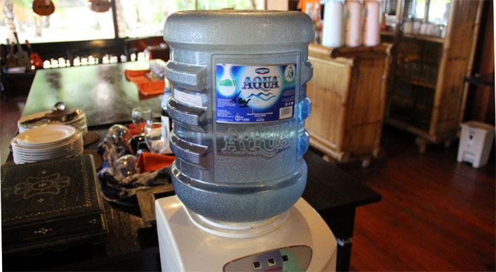 Wasser Gallone Indonesien