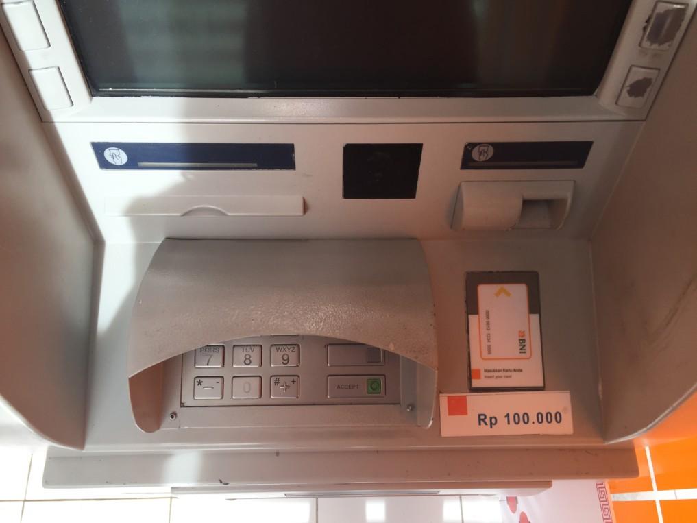 Geld abheben Indonesien 2