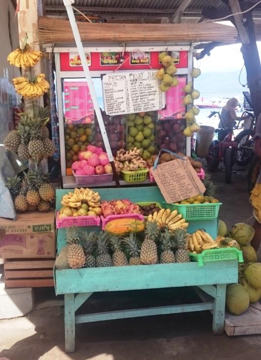 Gili Inseln Fruchtsaft