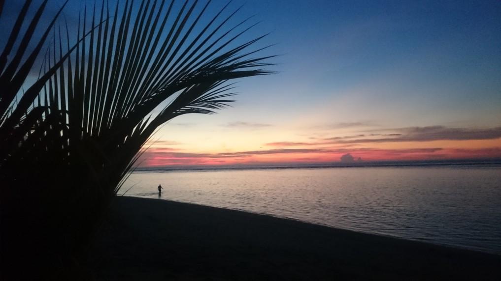 Gili Inseln Sonnenuntergang