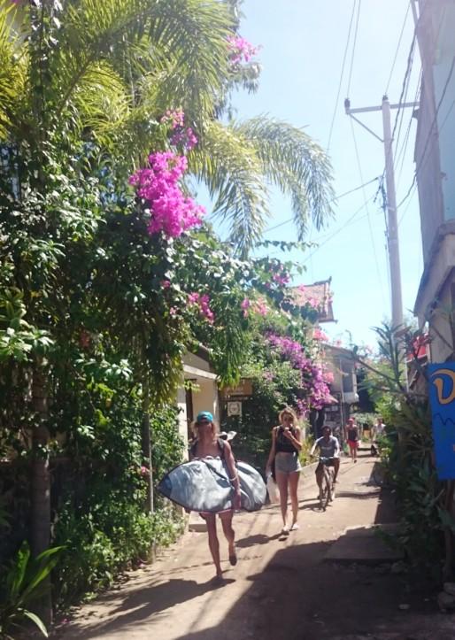 Gili Inseln Spaziergang