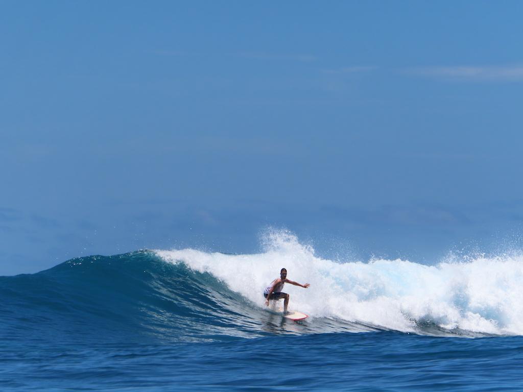 Hinako Islands surfen