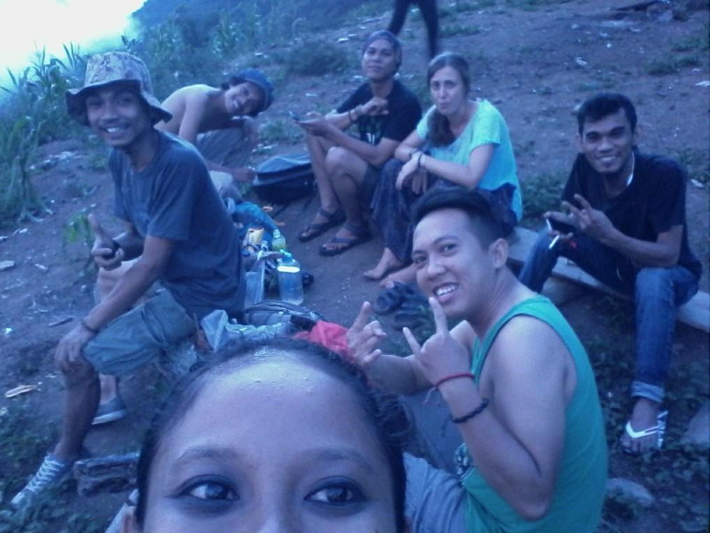 Couchsurfing in Indonesien: Ausflug mit der ganzen Gruppe