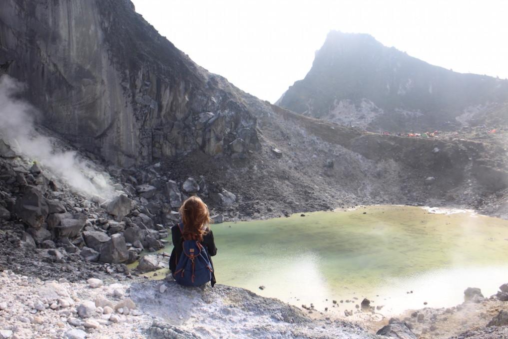 Berastagi Sibayak Mountain