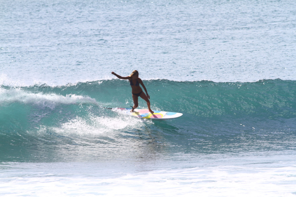 Arbeiten auf Bali float
