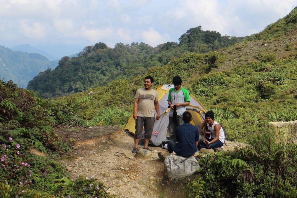 Camping Sibayak
