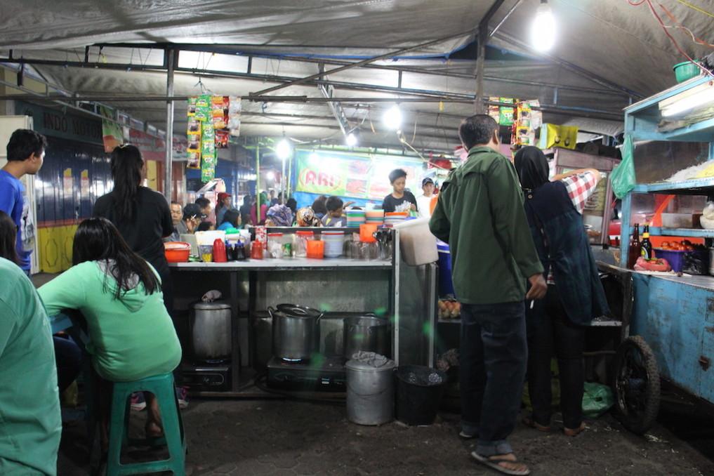 Berastagi Nachtmarkt