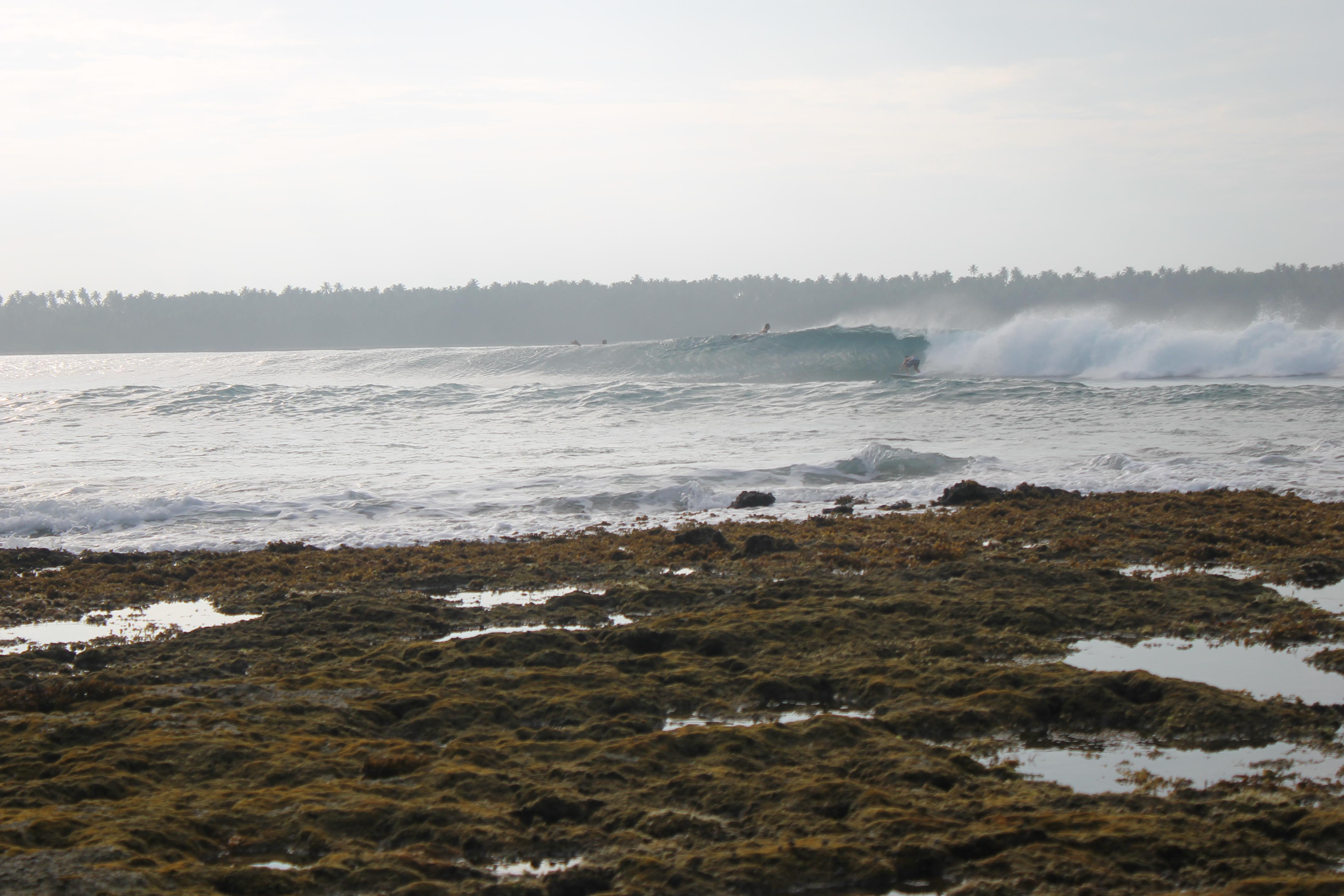 Surfen Nias Indonesien