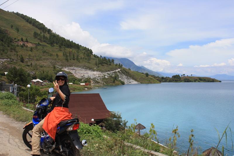Roller fahren Sumatra