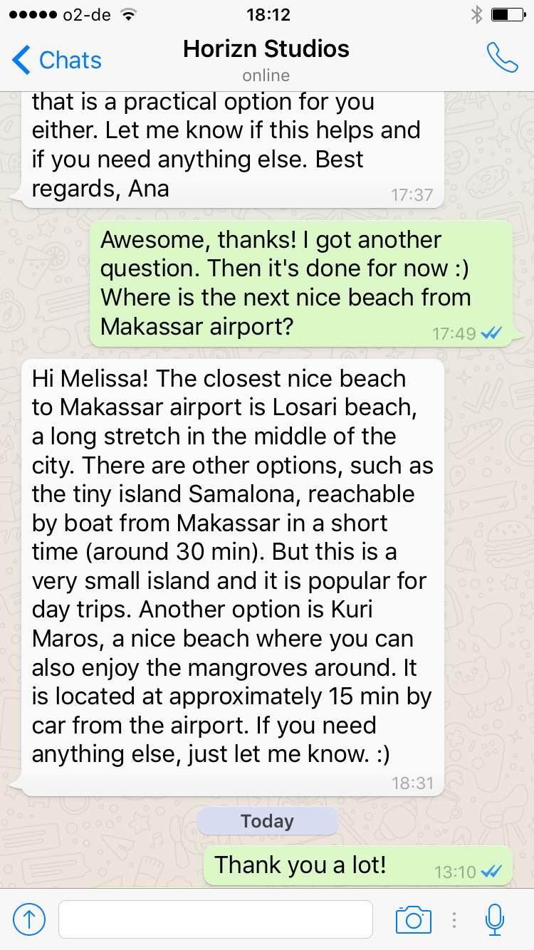 Horizn Travel Assistant