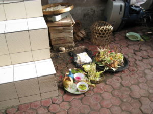 Baby Zeremonien auf Bali
