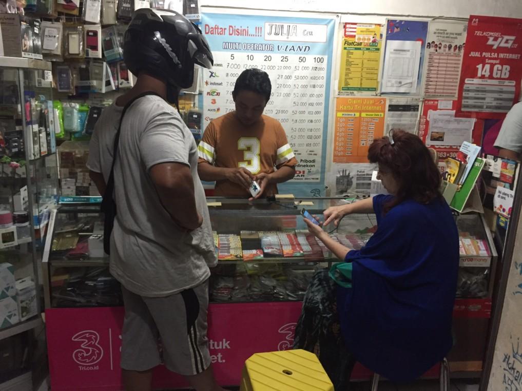 Pulsa Shop Indonesien
