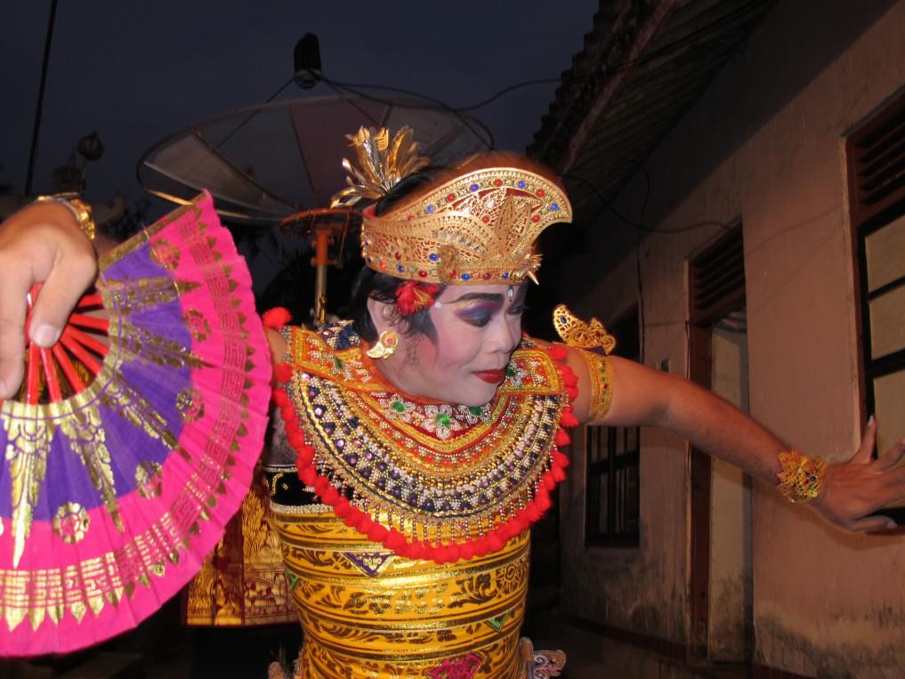 Balinesischer Tänzer