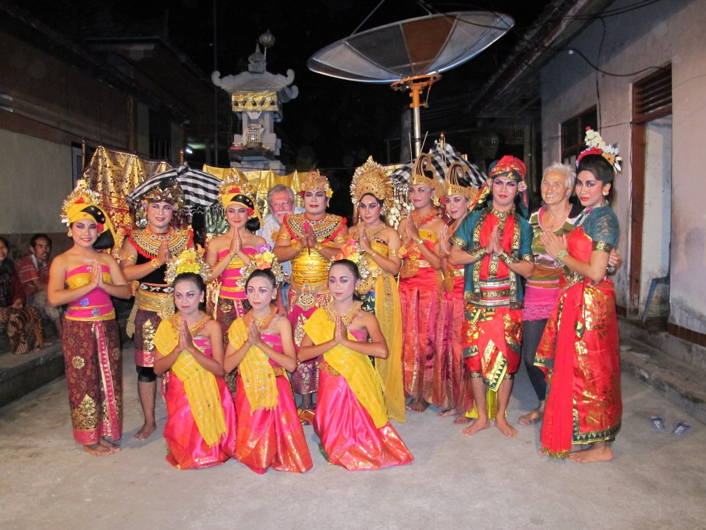 Balinesische Tanzgruppe