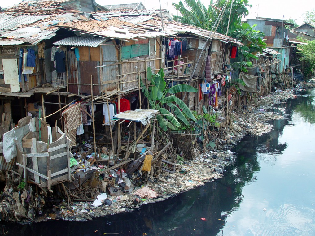 Indonesia's environmental issues - river pollution by internet