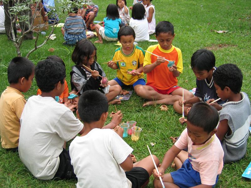 Freizeitaktivitäten im SOS-Kinderdorf helfen den Kindern, ihre Stärken und Talente zu entdecken – und traumatische Erlebnisse zu verarbeiten.