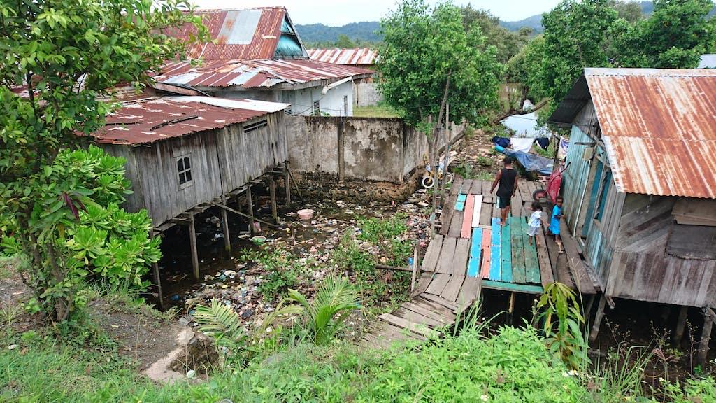 Indonesien-Muellproblem