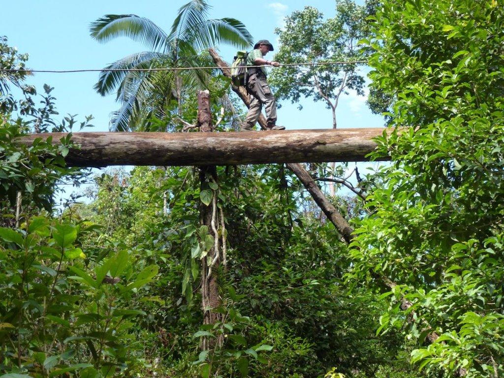 Indonesien-Regenwald-Ausruestung