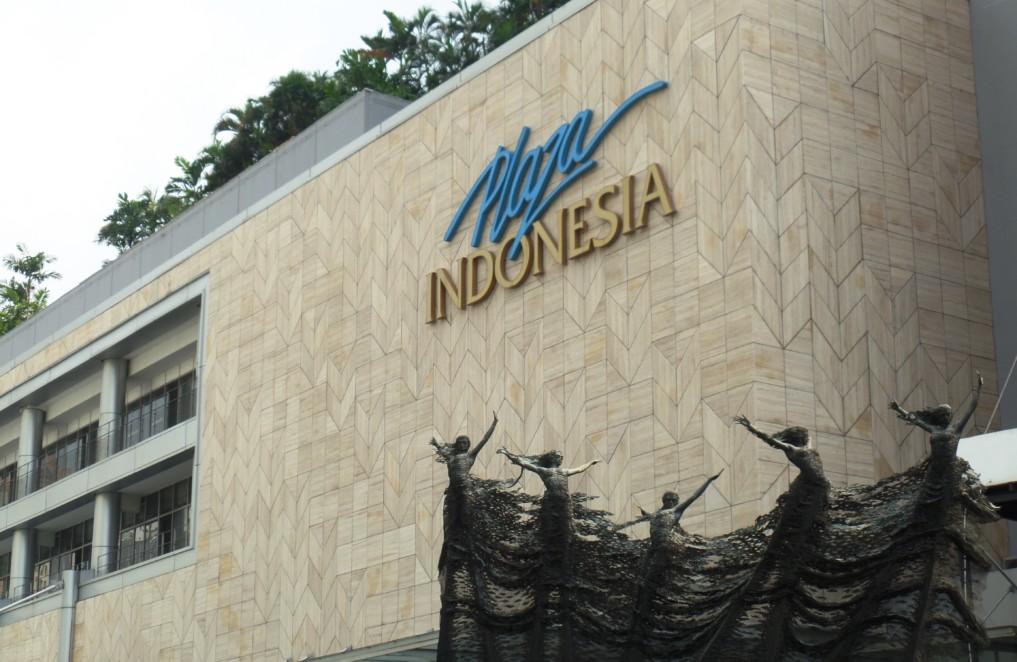 HIer kommen nur die gut betuchten Indonesier hin: Plaza Indonesia