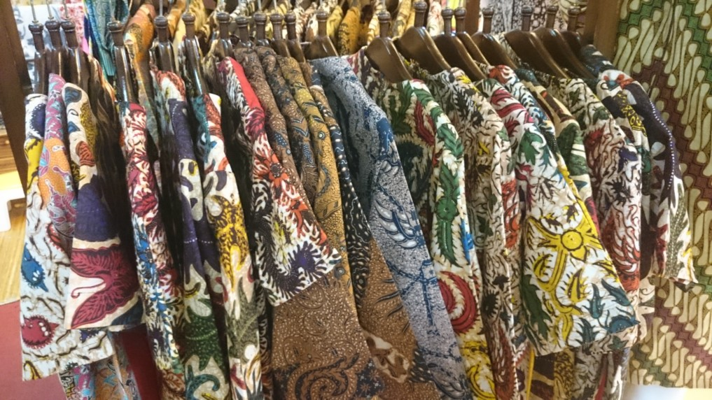 Batik - da wird man in Thamrin City mehr als fündig!