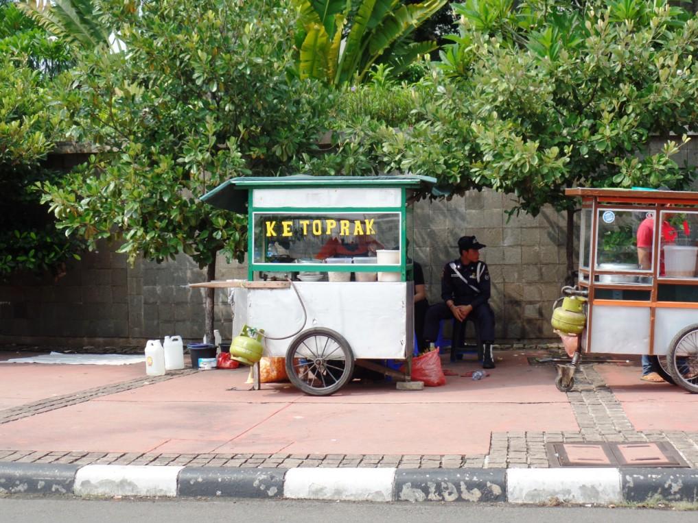Jakarta Sehenswürdigkeiten Streetfood