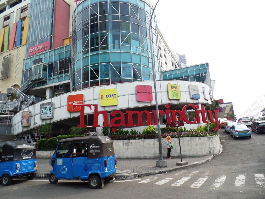 Thamrin City: Eine riesen Mall, die ein bisschen wie ein Labyrinth ist!
