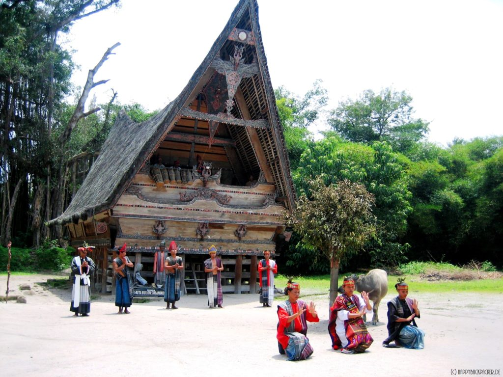 Kings house in Simanindo