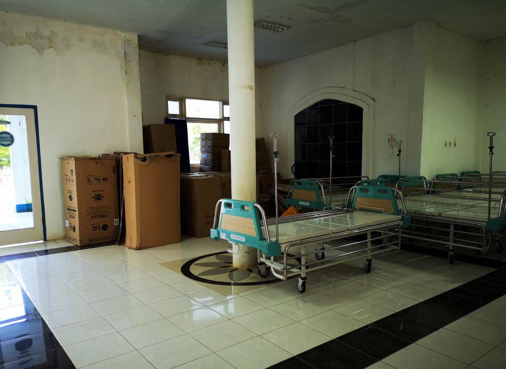 Krankenhaus Waisai Bettenlagerung