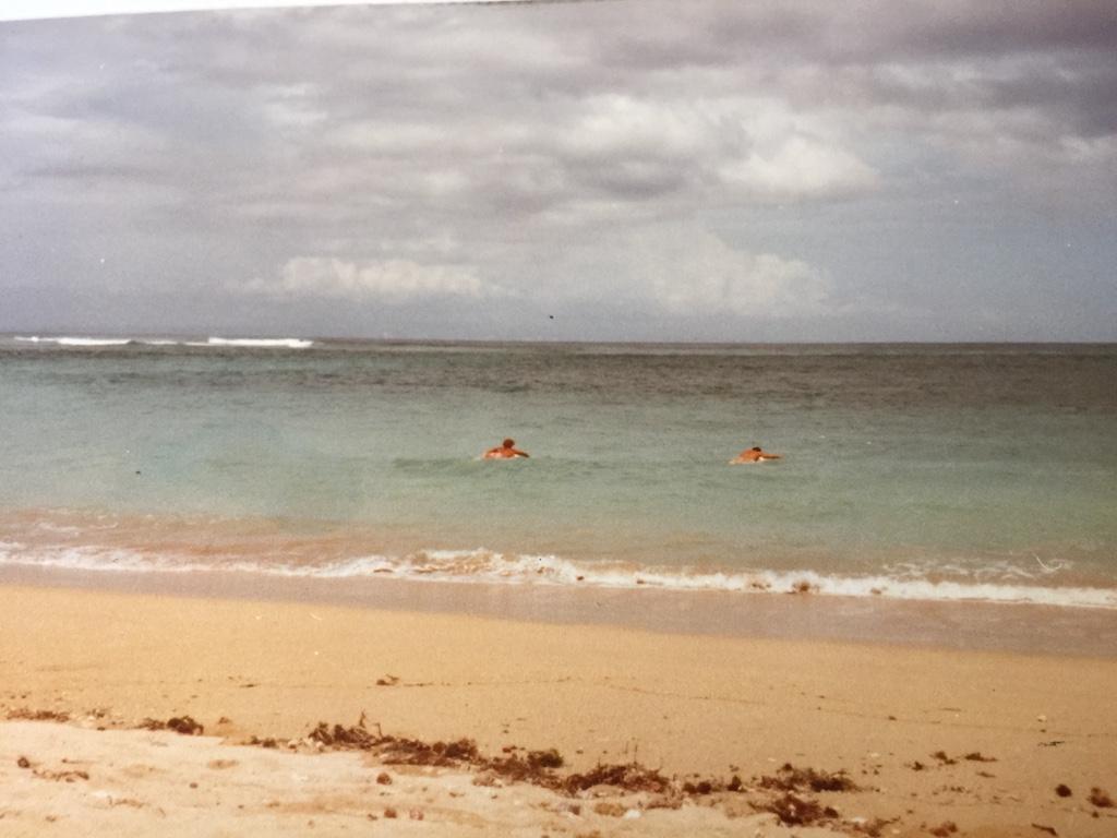 Kuta Beach 1980