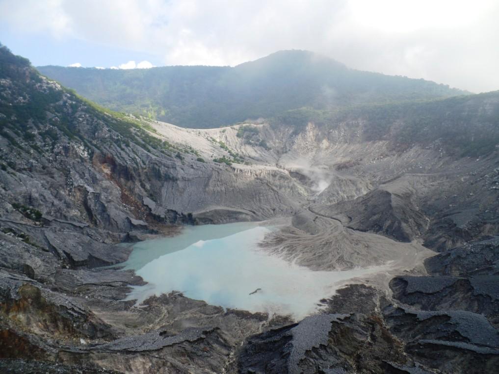 Der inaktive Teil des Tangkuban Perahu - einfach atemberaubend!