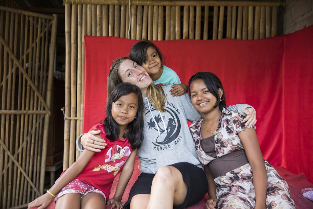Liebkosungen-Indonesien