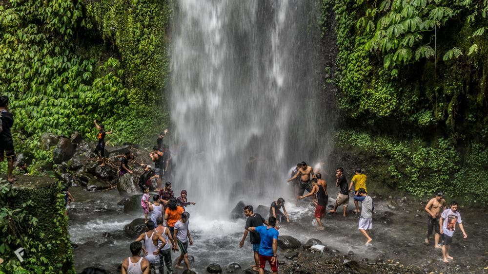 Lombok_Sendang_Gile_Waterfall