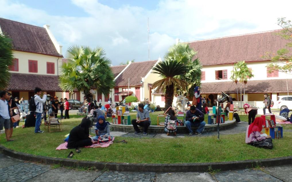 Auf dem Makassar International Writers Festival ist immer etwas los