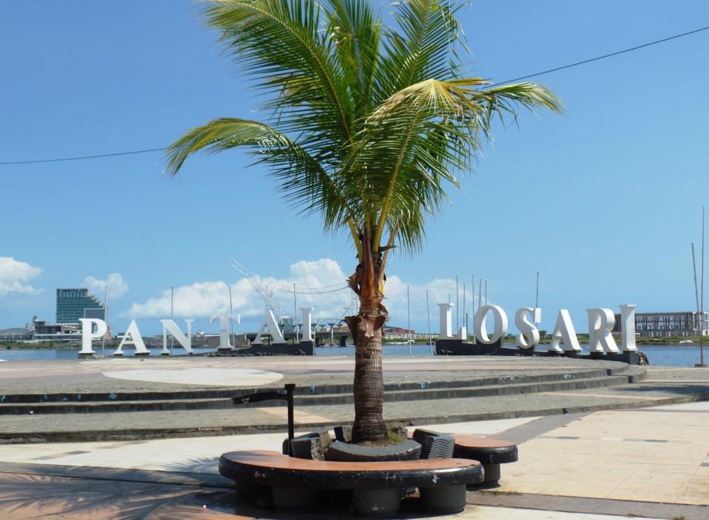 Der Pantai Losari lädt zum Entspannen ein