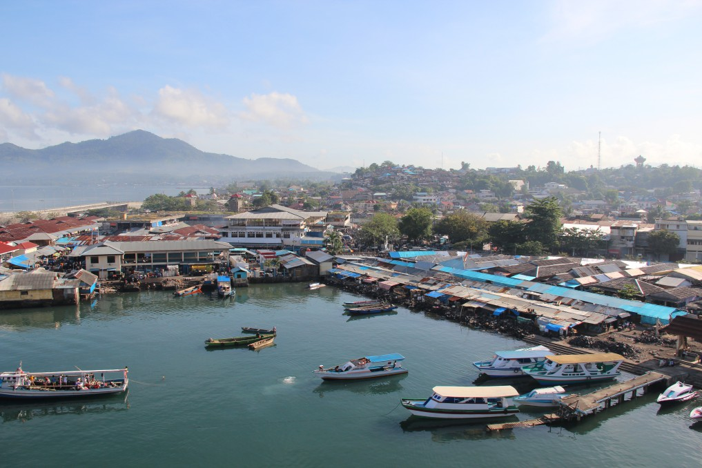 Manado von oben