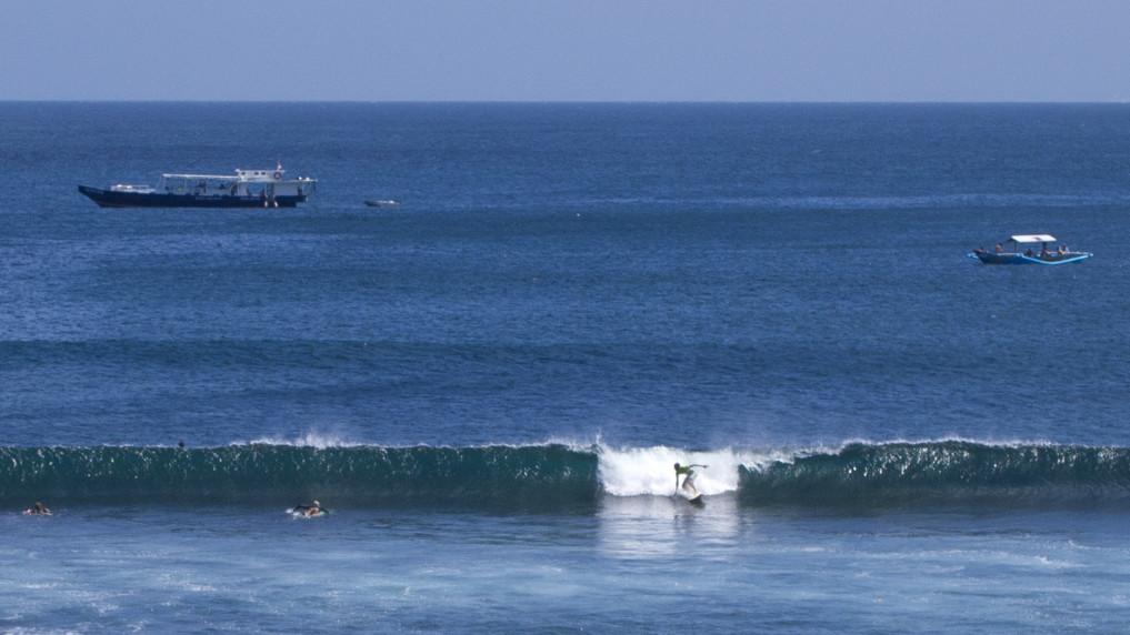 Surfen in Mawi, Lombok