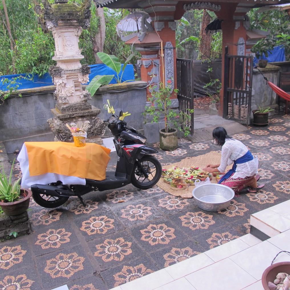 Motorrad-Zeremonie-Indonesien